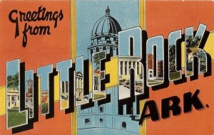 Little Rock Postcard