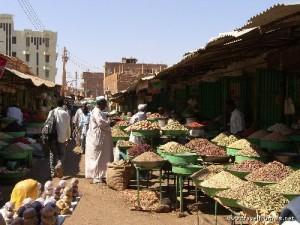 street Market Khartoum Sudan