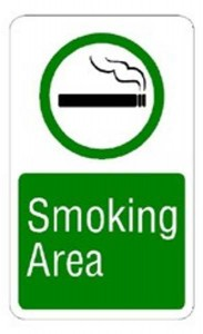 Smoking Allowed Sign