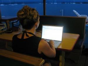 Amanda Pressner Blogging
