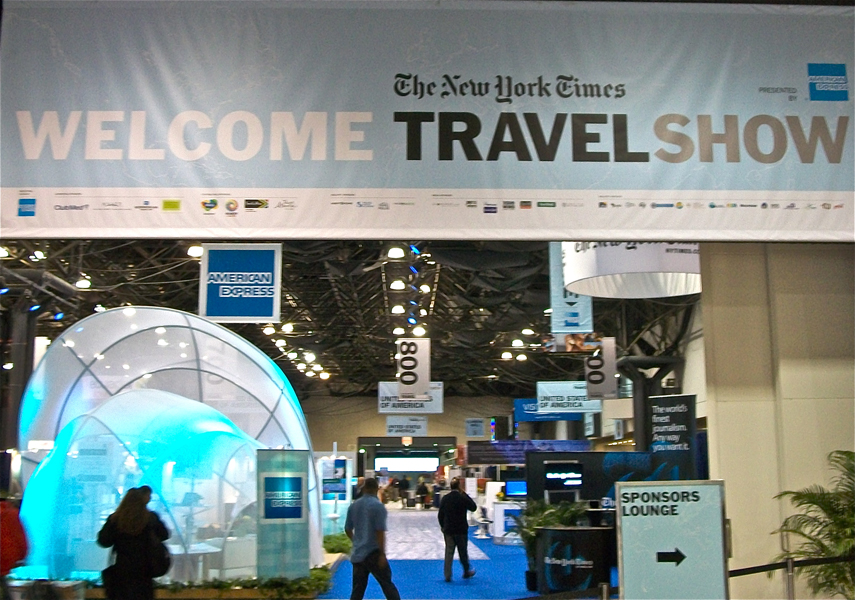 New York Times Travel Show 2011