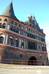 Northern German city of Lubeck