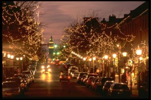 Old Town Alexandria in Virginia