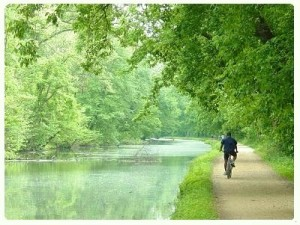 Chesapeake and Ohio Canal biking paths