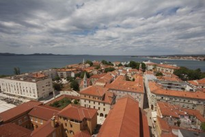 Bird's Eye View of Zadar, Croatia
