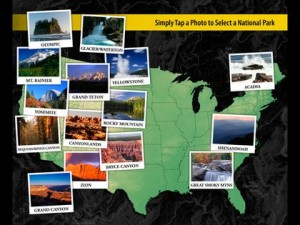 New app National Parks Maps HD