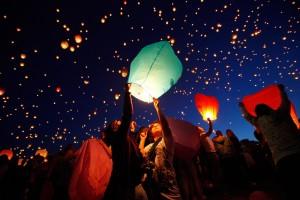 Lantern Night in Poznan, Poland