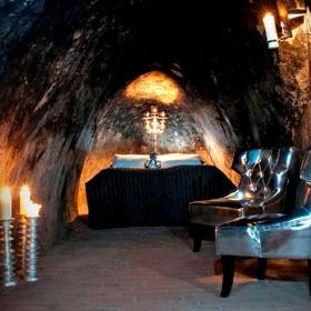 World's Deepest Hotel Room