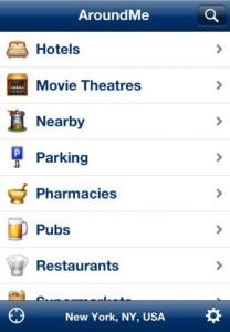aroundme iphone app
