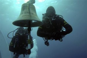 Bell Stolen from Wreck of Concordia