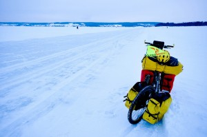 Ice road biking