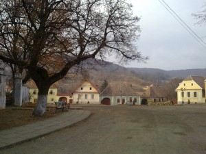 Saschiz-village
