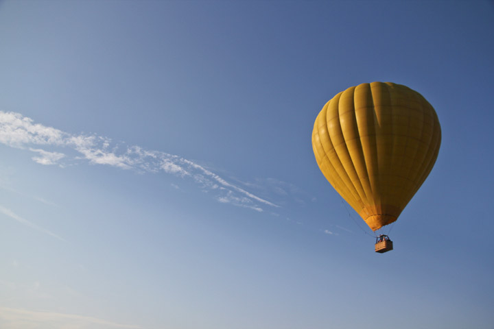 The LG Travel News Roundup: The Hot Air Balloon Work Out