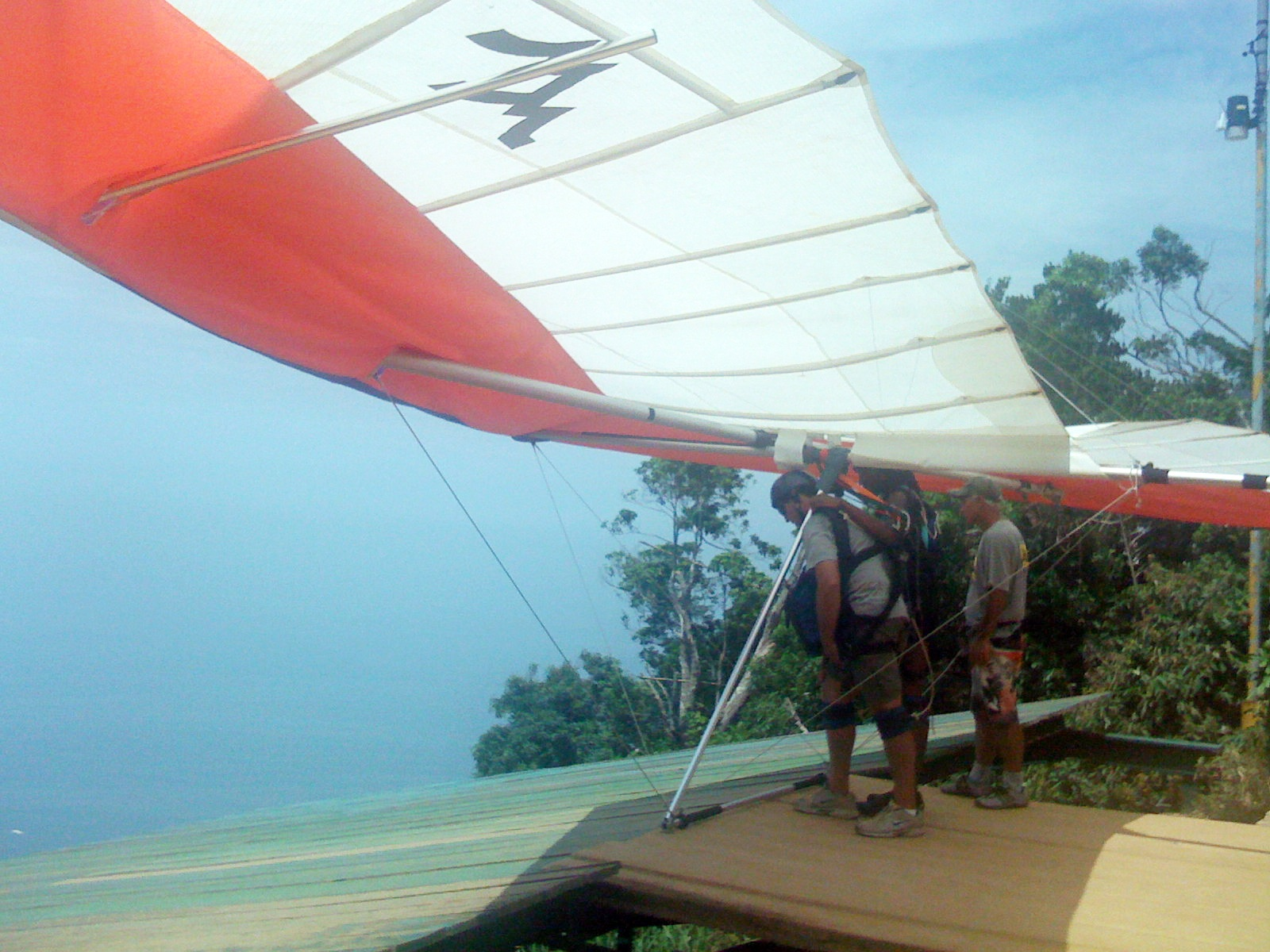 Hang Gliding in Paradise
